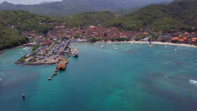 パダンバイ港と村 - 商港点の映像素材/bロール