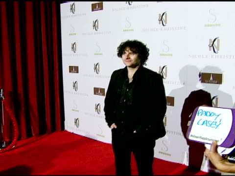 paddy casey at the nicole khristine jewelry launch featuring dj am, grandmaster flash and macy gray performing the first ever turntable symphony at... - macy gray stock videos & royalty-free footage