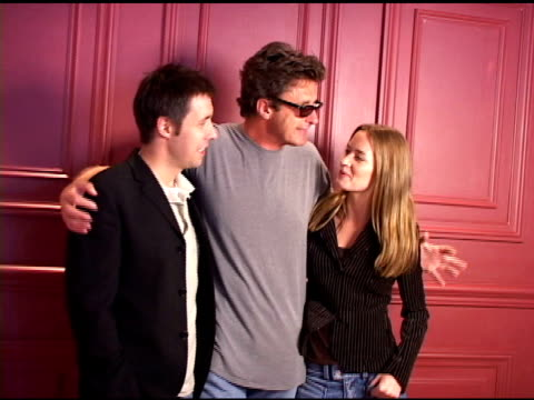 Paddy Considine Pawel Pawlikowski and Emily Blunt at the 2004 Toronto International Film Festival 'My Summer of Love' Portraits at Intercontinental...