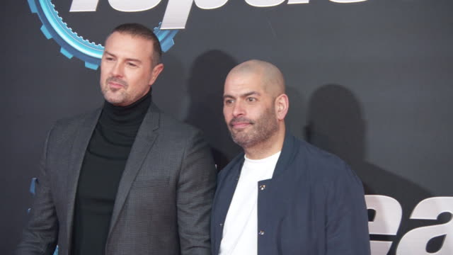 paddy mcguinness and chris harris at top gear series 28 london premiere at odeon luxe leicester square on january 20 2020 in london england - reality tv stock videos & royalty-free footage