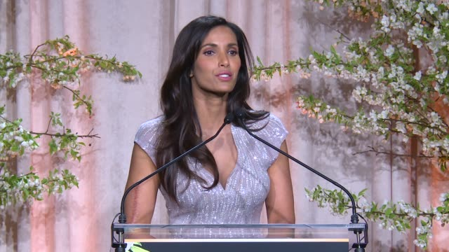 padma lakshmi at 8th annual blossom ball to benefit the endometriosis foundation of america at pier sixty at chelsea piers on april 19, 2016 in new... - chelsea piers stock videos & royalty-free footage