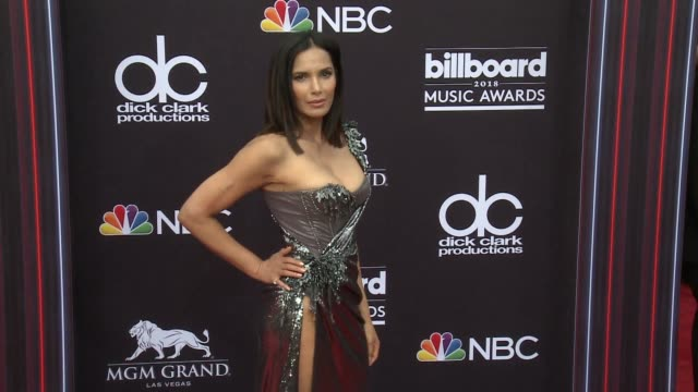 Padma Lakshmi at the 2018 Billboard Music Awards Arrivals on May 20 2018 in Las Vegas Nevada