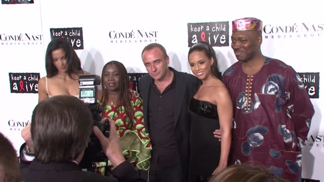 padma lakshmi, nick redding, alicia keys, kevin mazur, and guests at the conde nast media group presents the 4th annual 'black ball' concert for... - conde nast media group stock videos & royalty-free footage