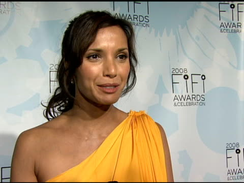 Padma Lakshmi talking about what fragrance means to her and creating her own perfume at the Fragrance Foundation Presents 36th Annual FiFi Awards and...