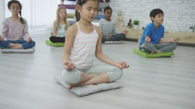 padmasana - mindfulness stock videos & royalty-free footage