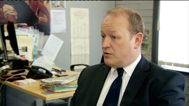 paedophile claims against cyril smith to be investigated rochdale int simon danczuk mp interview sot need a larger public inquiry that looks at what... - mp stock-videos und b-roll-filmmaterial