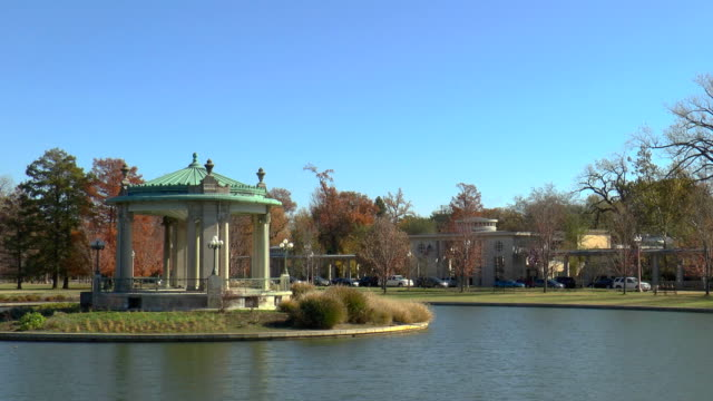 pagoda lake - st louis, missouri - st. louis missouri stock videos & royalty-free footage