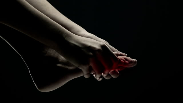 pain in the foot - pain stock videos & royalty-free footage