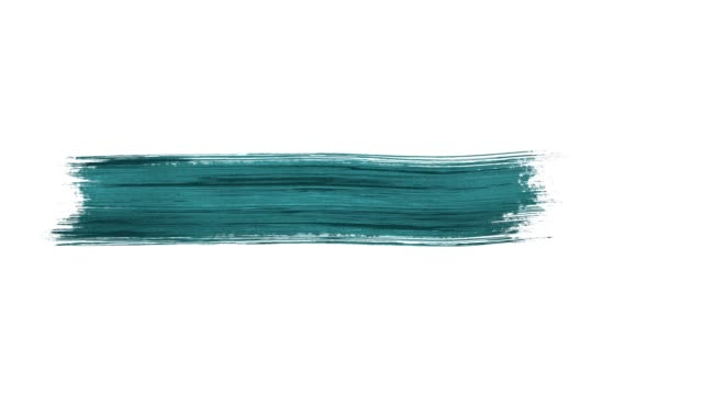 4k paint brush stroke transition animation with alpha channel (transparency) - brush stroke stock videos & royalty-free footage