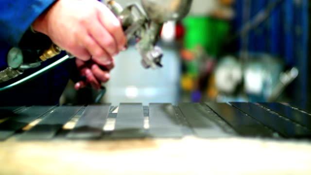 paint job. - spray painting stock videos & royalty-free footage