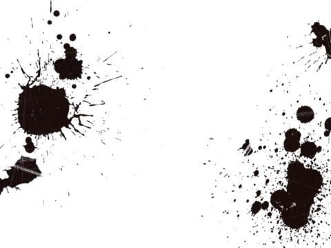 paint splat graffiti backgound. ntsc, pal - slimy stock videos and b-roll footage
