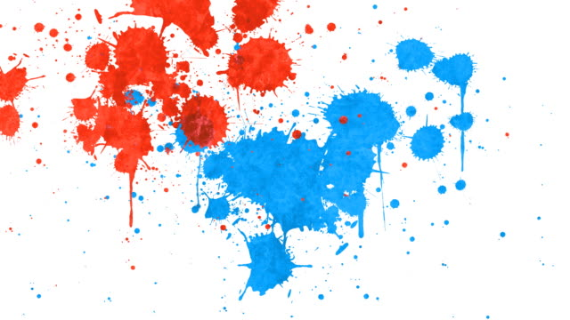 paint splatter - paint stock videos & royalty-free footage