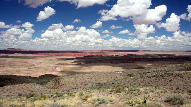 vídeos de stock e filmes b-roll de painted desert in arizona - cultura navajo