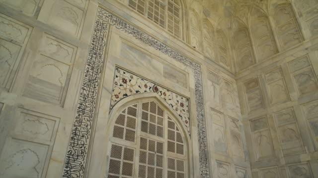 painted marble and high ceilings - maßwerk stock-videos und b-roll-filmmaterial