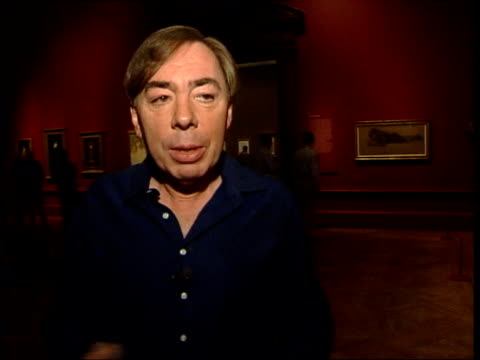 Andrew Lloyd Webber collection exhibited Andrew Lloyd Webber interviewed SOT Talks about buying paintings by BurneJones his art dealer/ discusses...