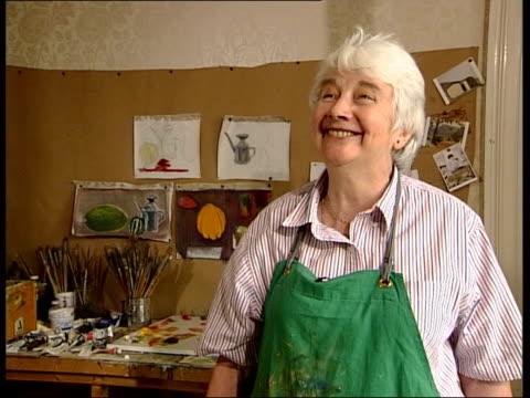 Elizabeth Blackadder made Dame of British Empire Dame Elizabeth Blackadder interviewed SOT