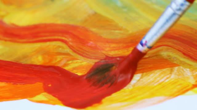 Painting, macro