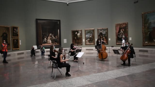 ESP: 'El Prado' Museum Reopens In Madrid