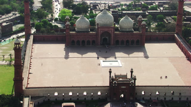 pakistan : badshahi mosque in lahore - lahore pakistan stock videos and b-roll footage