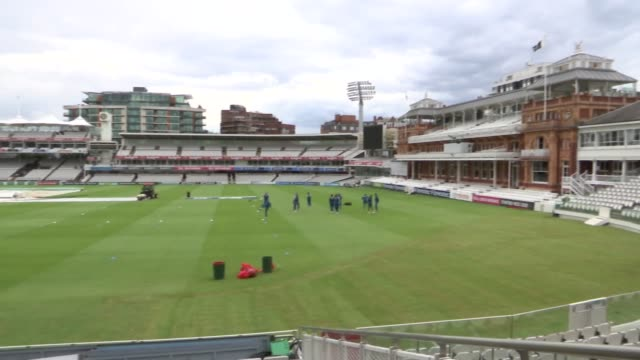 pakistan cricket team training at lords england london lord's cricket ground ext pakistan cricket team training including mohammad amir - lords cricket ground stock videos and b-roll footage