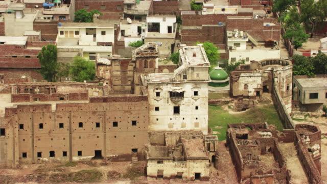 pakistan : emperor jehangir's palace in sheikhupura - punjab pakistan stock videos and b-roll footage