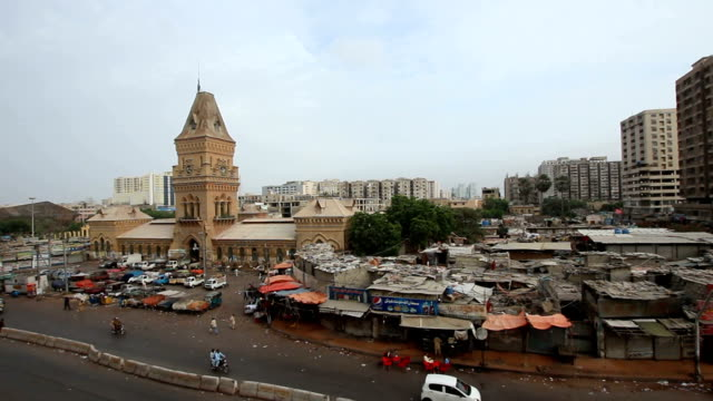 pakistan: empress market in karachi - sindh pakistan stock videos and b-roll footage