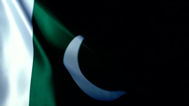 pakistan flag flapping - pakistan stock videos & royalty-free footage