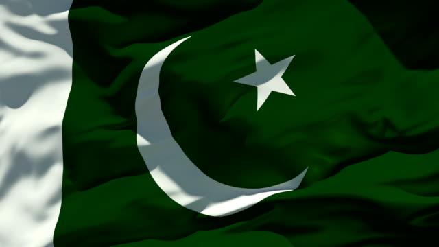 pakistan flag - pakistani flag stock videos & royalty-free footage