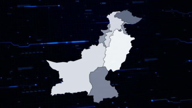 Pakistan network map