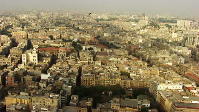 pakistan : overview of karachi - sindh pakistan stock videos and b-roll footage