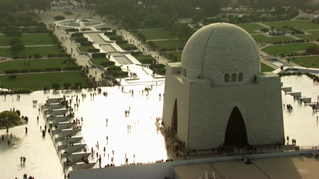pakistan : religious building in karachi - sindh pakistan stock videos and b-roll footage
