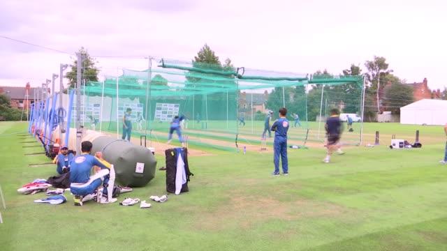Midlands Birmingham Edgbaston EXT General views Pakistan cricket team net practice / Team training