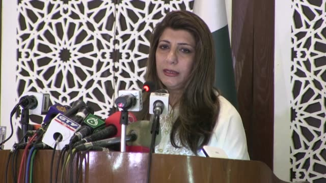 stockvideo's en b-roll-footage met pakistan urges iran and the united stations to diffuse tensions after a us strike killed a top iranian general and prompted retaliatory missile... - clean