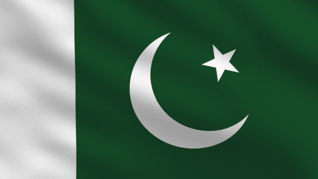pakistani flag - pakistani flag stock videos & royalty-free footage