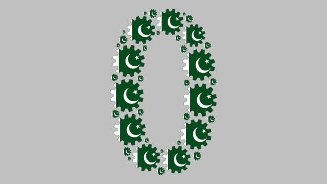 pakistani number zero - pakistani flag stock videos & royalty-free footage