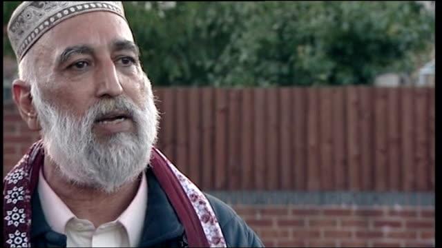 Pakistani President Asif Ali Zardari speech in Birmingham disrupted by protestors EXT Mohammed Shamim Khan interview SOT describes how he threw his...