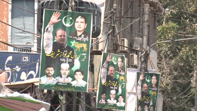 pakistanis are hoping their new prime minister will roll out high profile projects that became his partys trademark in its political heartland of... - lahore stock videos and b-roll footage
