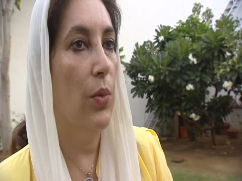 pakistan's former prime minister benazir bhutto says that the suicide attacks wouldn't had happened if streetlights had not been turned off that day - suicide bombing stock videos & royalty-free footage