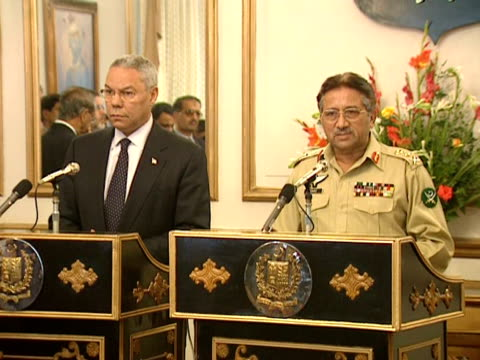Pakistan's President Gen Pervez Musharraf on how to achieve peace after the 9/11 terrorist attacks