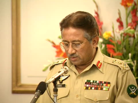 Pakistan's President Gen Pervez Musharraf on the 'new rejuvenated relationships within Pakistan and the United States' after the 9/11 terrorism...