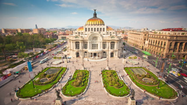 TIME LAPSE: Palace Bellas Artes, Mexico City