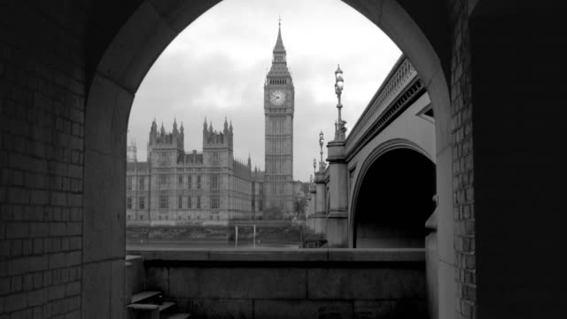 palace of westminster & big ben westminster bridge  london - big ben stock videos & royalty-free footage