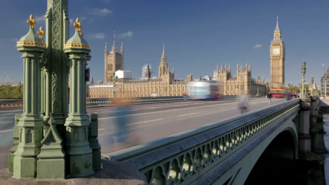 palace of westminster - big ben stock videos & royalty-free footage