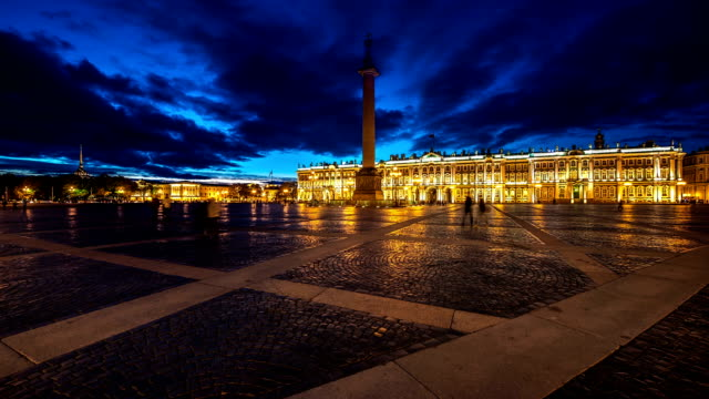 Palace Square in Saint Petersburg Russia