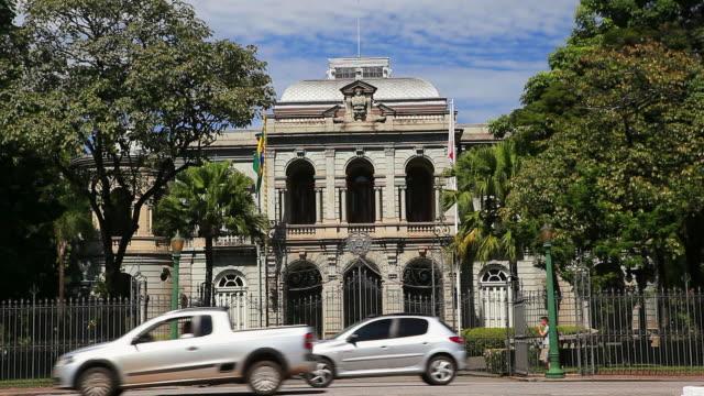 ws palacio da liberdade palace / belo horizonte, minas gerais, brazil - palace stock videos & royalty-free footage