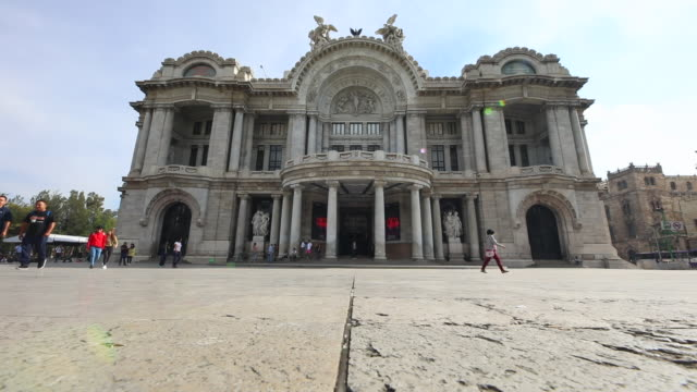 palacio de bellas artes plaza - 1932 stock videos and b-roll footage