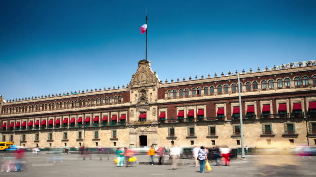 TIME LAPSE: Palacio Nacional, Mexico City
