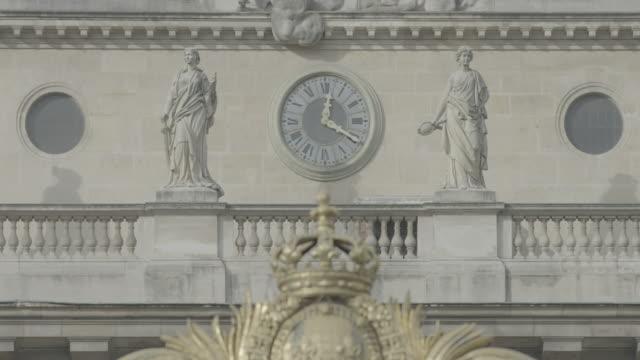 palais de justice, paris - gerichtsgebäude stock-videos und b-roll-filmmaterial