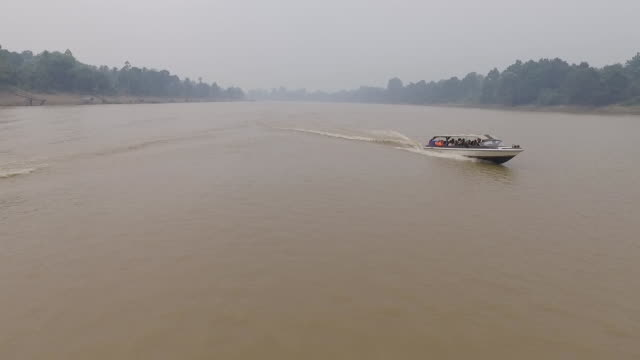 palangkaraya river - kalimantan stock videos and b-roll footage