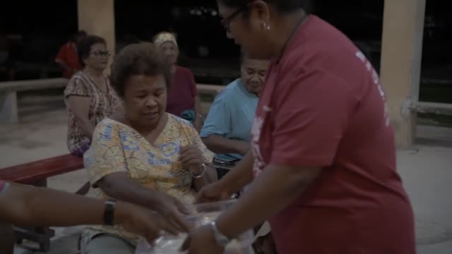 palau's ministry of health work along side a us army medical outreach team in peleliu palau as part of exercise palau which includes several... - palau stock videos & royalty-free footage